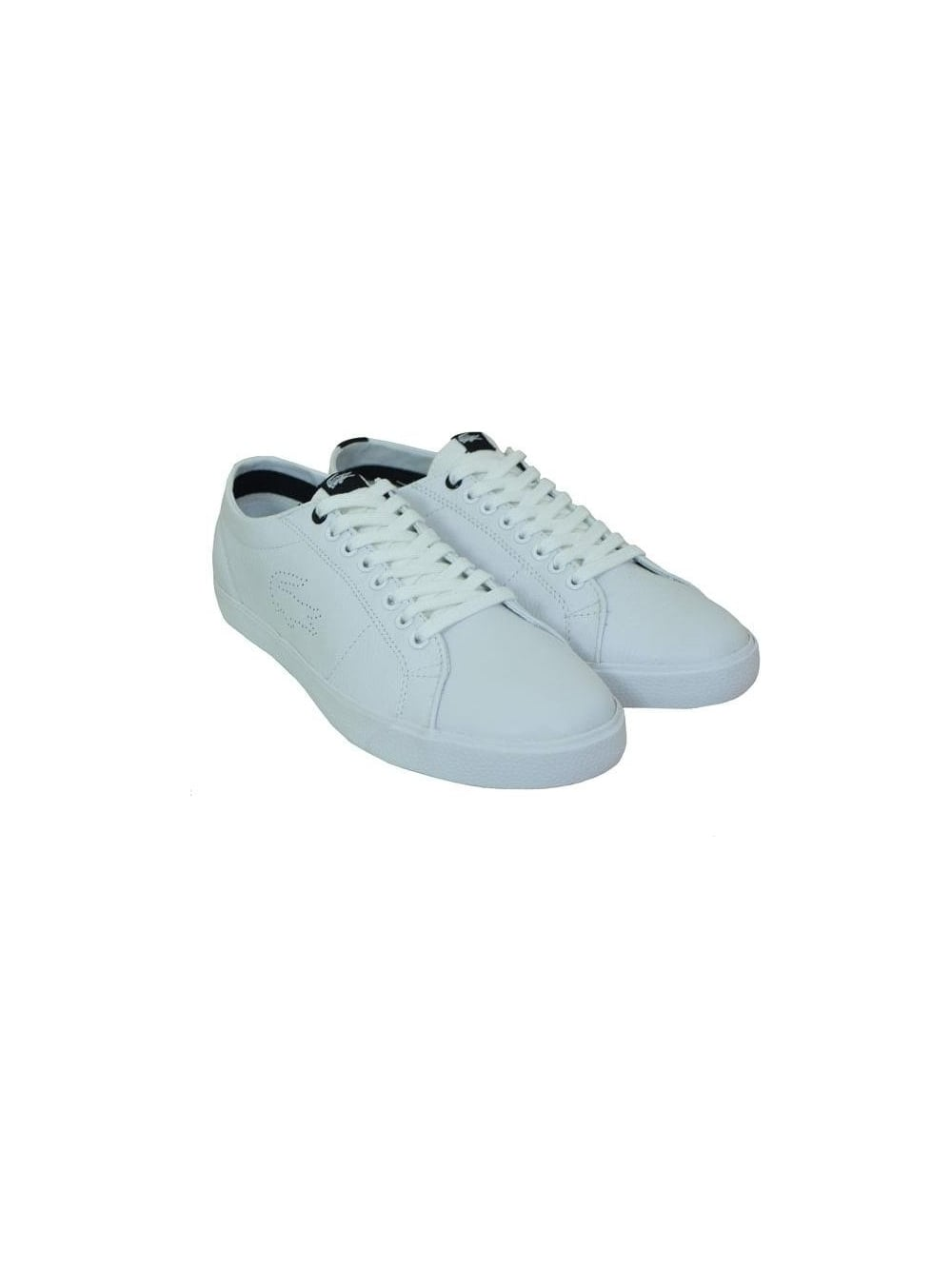 bb04ac6100e27 Lacoste Marcel HS SPM Trainer in White - Buy Lacoste at Northern Threads