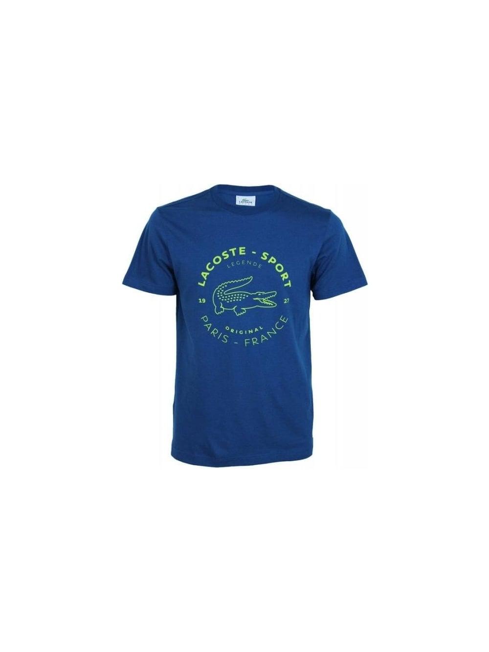 79cd2ee96 Lacoste Sport Big Croc Logo T.Shirt - Northern Threads