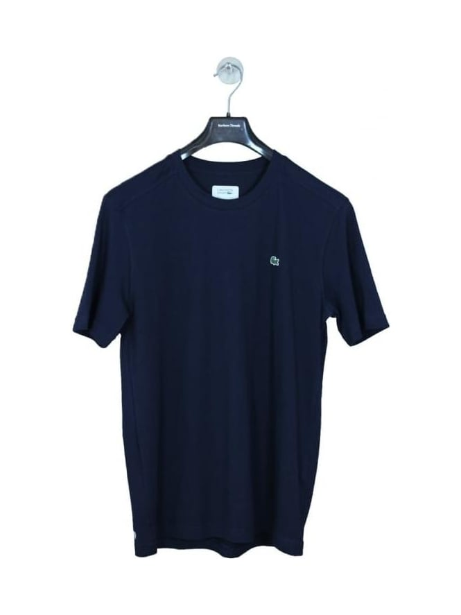 Lacoste Sport Classic Crew Neck Logo T.Shirt - Navy