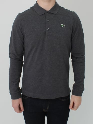 Classic Long Sleeved Polo - Pitch
