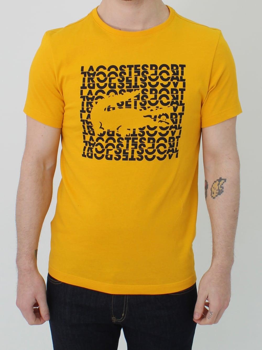 cfbe5d2c Graphic Logo Croc T.shirt - Buttercup