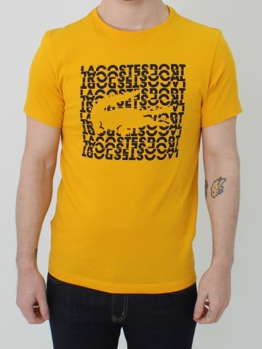 Graphic Logo Croc T.shirt - Buttercup