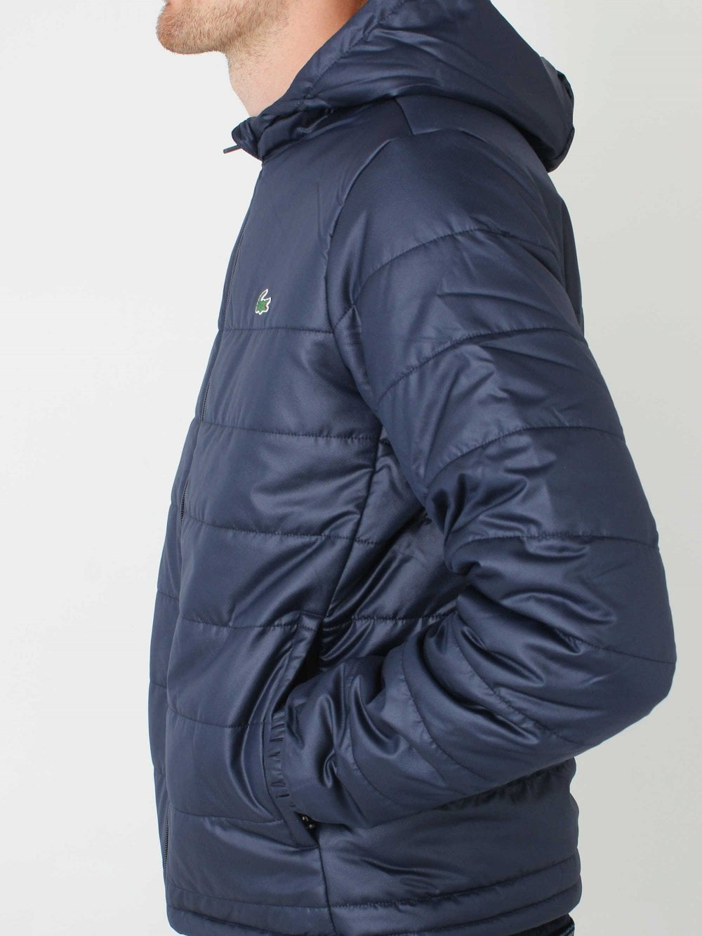 regard détaillé 57c90 ddfe6 Hooded Zip Jacket - Navy