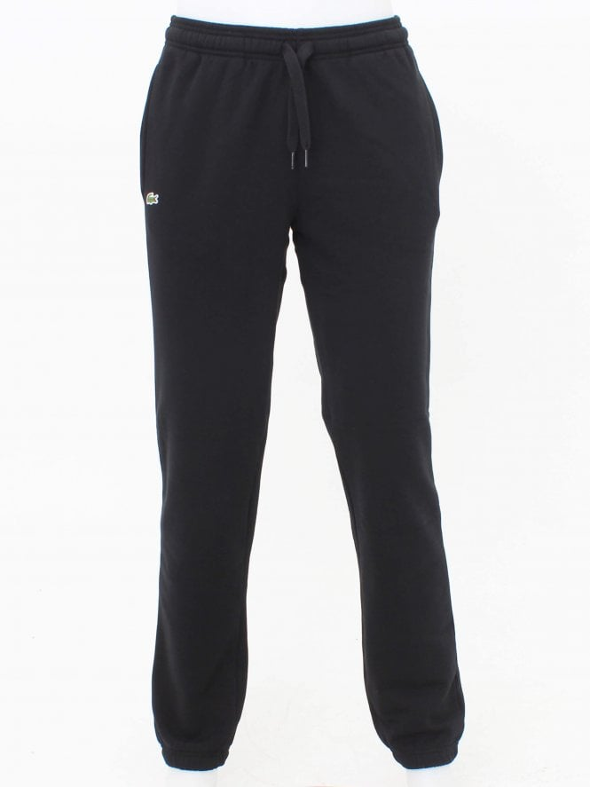Lacoste Sport Logo Sweat Pants - Black