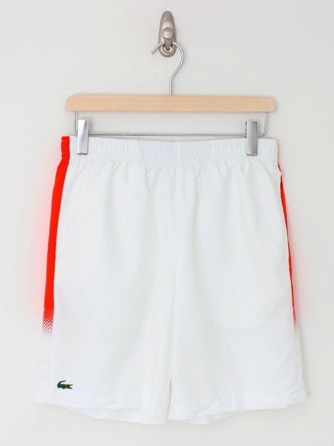 Lacoste Sport Shorts - Red/White