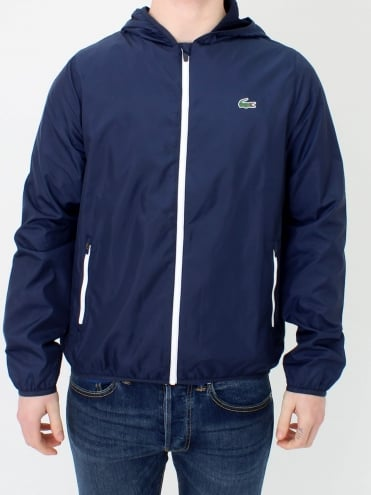 Sport Hooded Jacket - Navy