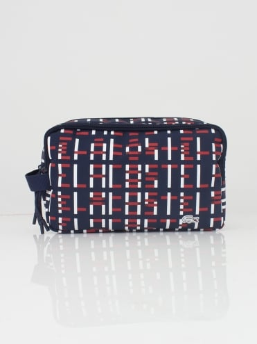 Sport Washbag - Red/White
