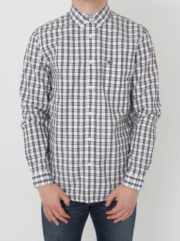 Tri Colour Check Shirt - Adrinople