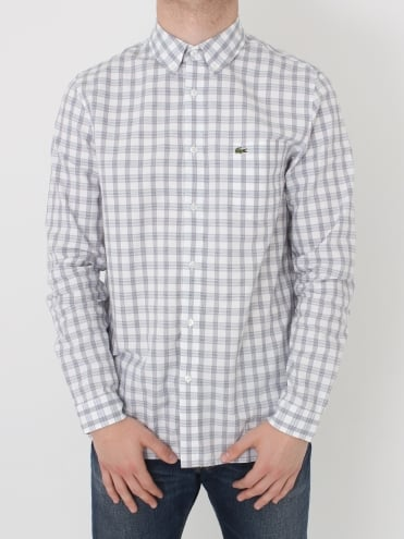 Tri Colour Check Shirt - Methylene
