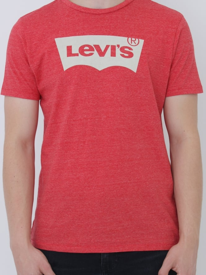 Levi's Housemark Graphic T.Shirt - Cherry Bomb