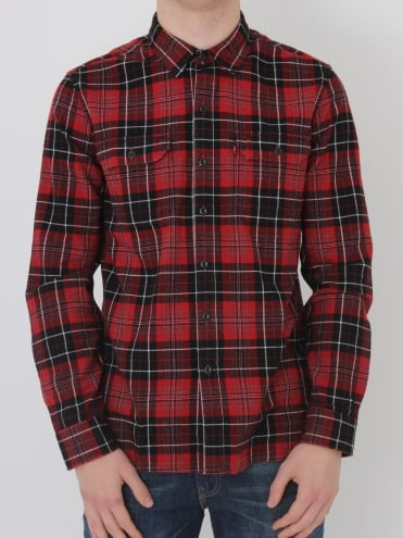 Jackson Worker Shirt - Red