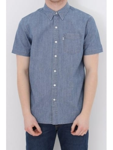 Sunset Pocket Shirt - Chambray