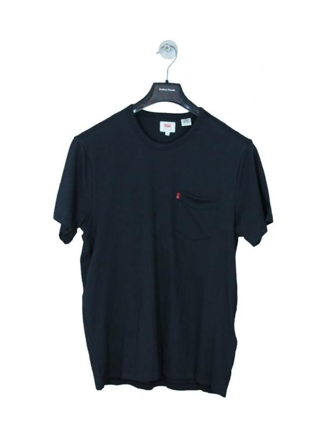 Levis Sunset Pocket T Shirt - Jet Black