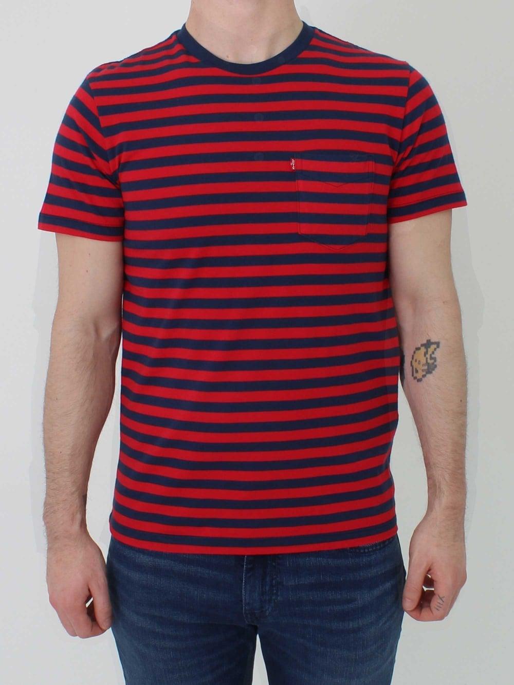 Sunset Shirt T Design Database Levis One Pocket True Blue 65824 0337 In Red Northern Threads