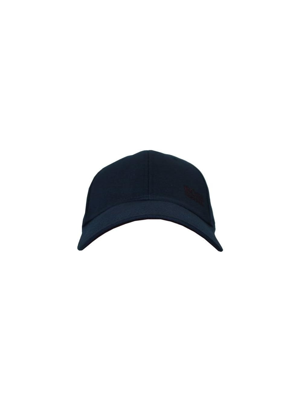 HUGO BOSS Green Logo Cap in Navy - Northern Threads 2d120974c87