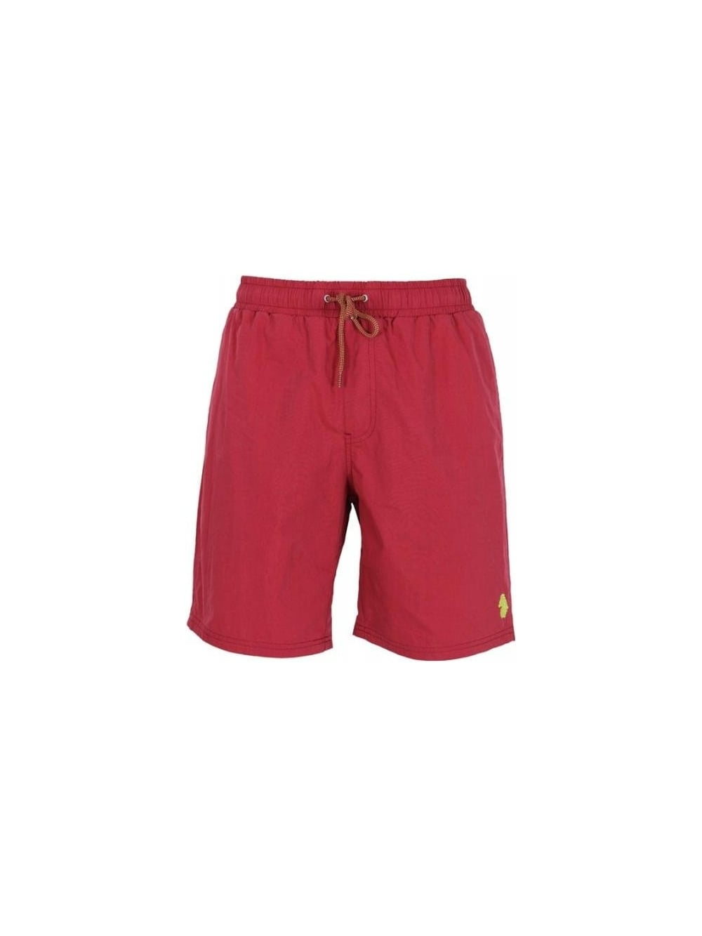 a594cf7adc Luke 1977 Cagy Knee Length Swim SHorts in Sports Red - Northern Threads