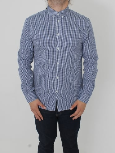 Terry The Toothpick Slim Shirt - Dark Navy