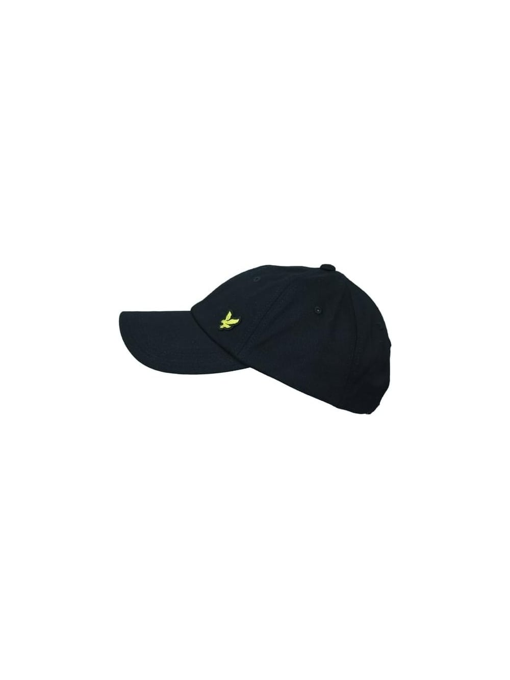 Lyle and Scott Baseball Cap in Black - Northern Threads bc4a9891e2f