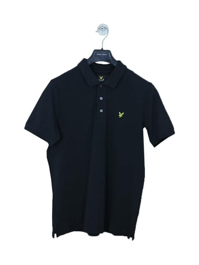 Lyle and Scott Classic Polo Shirt - Black