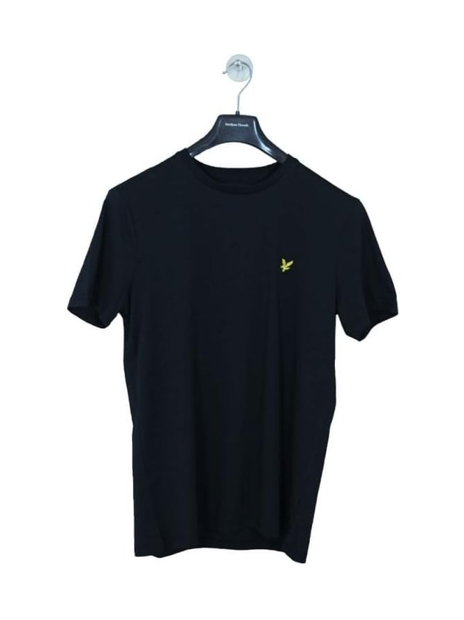 Lyle and Scott Crew Neck T Shirt - Black