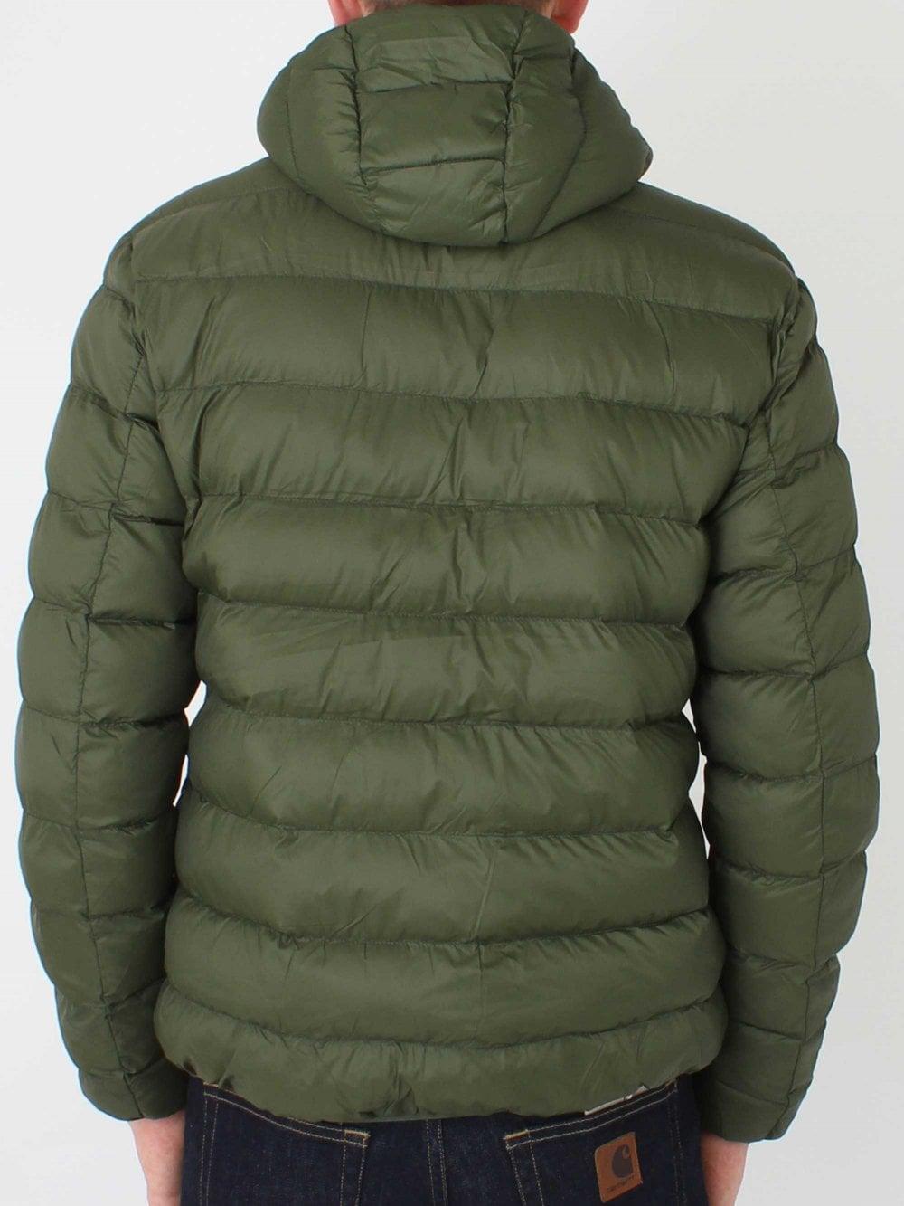 1c4897b3870 Lightweight Puffer Jacket - Green