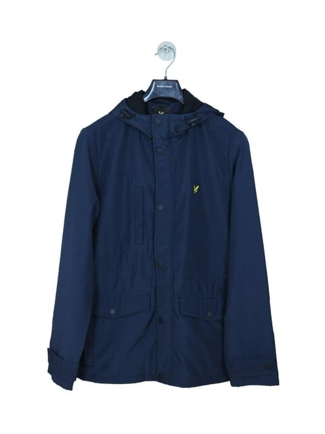 Lyle and Scott Microfleece Lined Jacket - Navy
