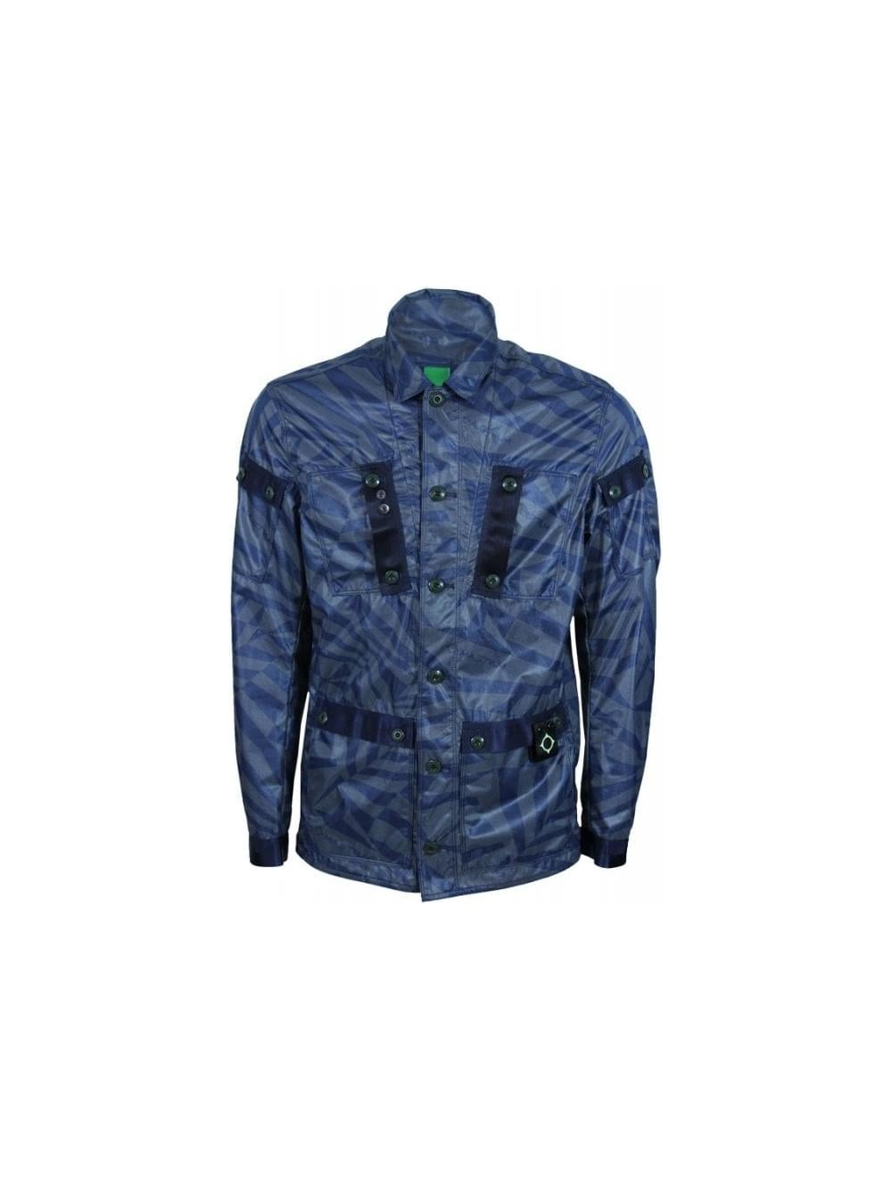 412a67722604a Ma.Strum Field Outershirt in Dazzle Camo - Northern Threads