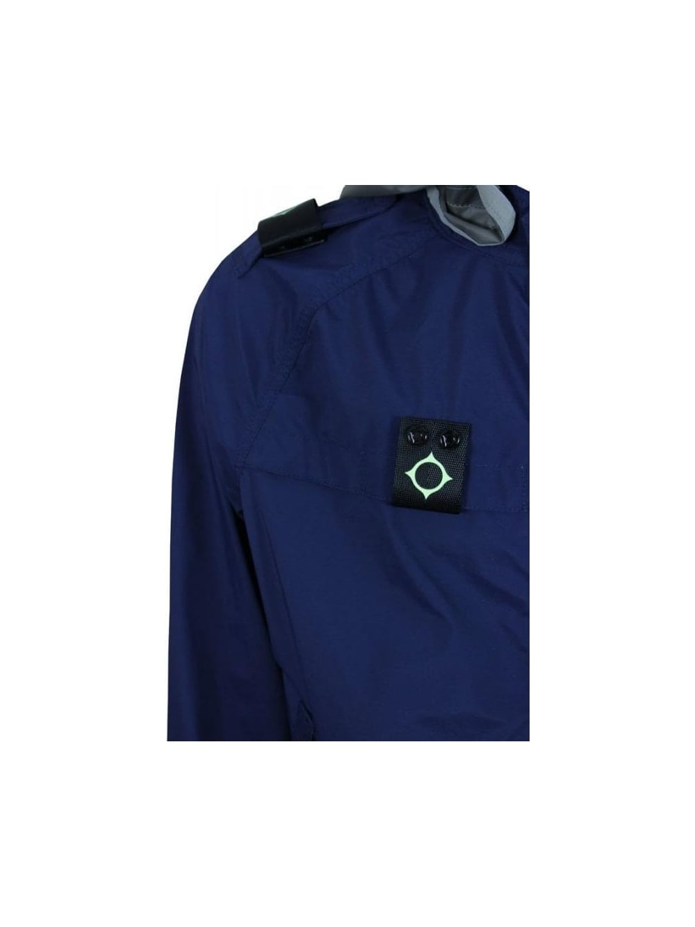 44eafde1f01a3 Ma.Strum Frost Hooded P-Jacket in Cool Navy - Northern Threads