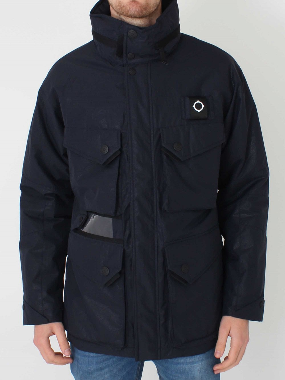 ba099db30f45d Ma .Strum Limited Edition Solid Torch Jacket in True Navy | Northern ...