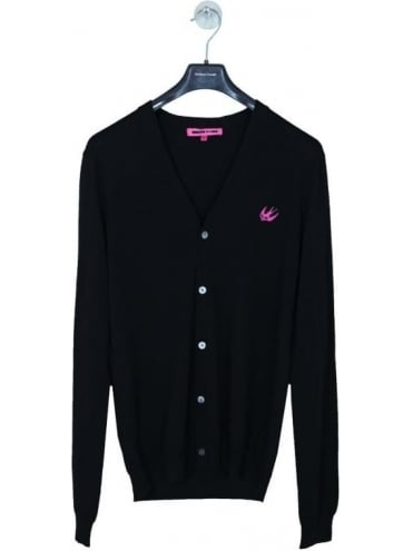 Swallow Cardigan - Black