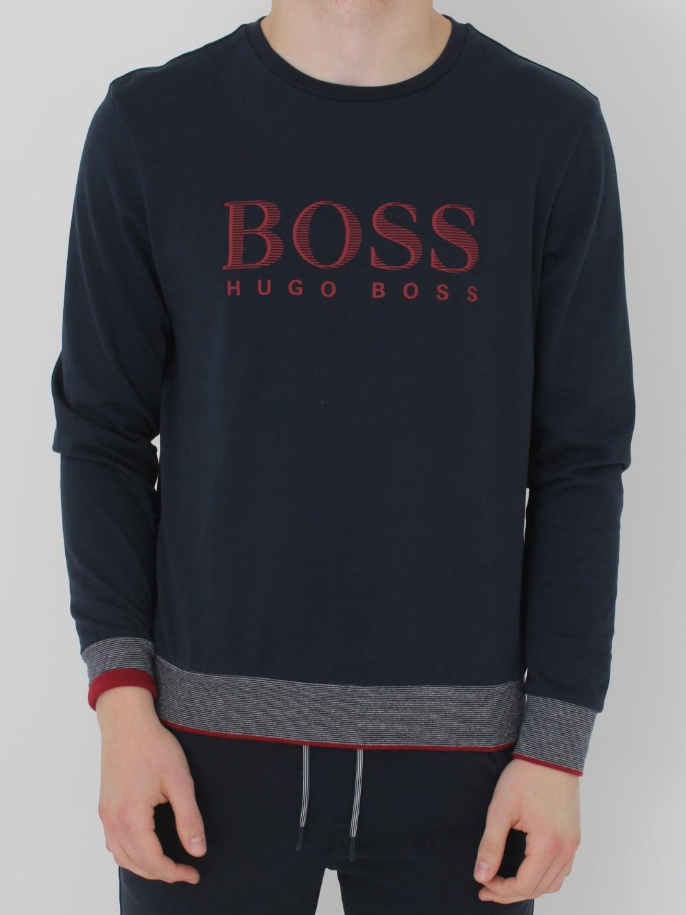 8dc75e0c2 HUGO BOSS - Boss Hugo Boss Cew Neck Sweatshirt in Dark Blue ...