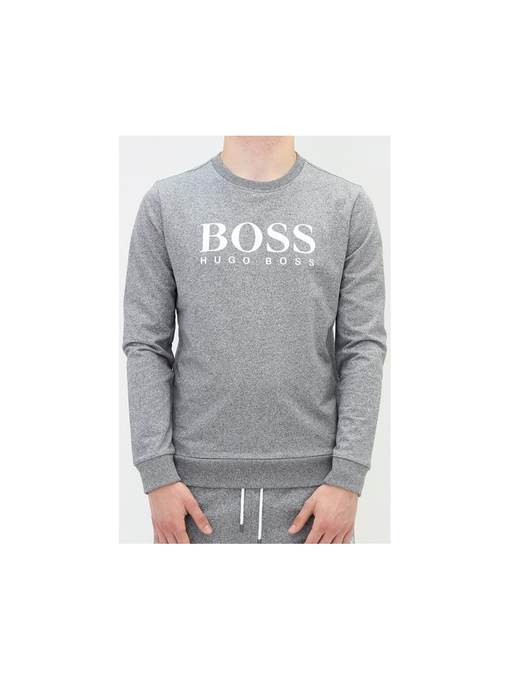 b42e81d5be6 HUGO BOSS - BOSS Hugo Boss Chest Logo Sweatshirt In Charcoal ...