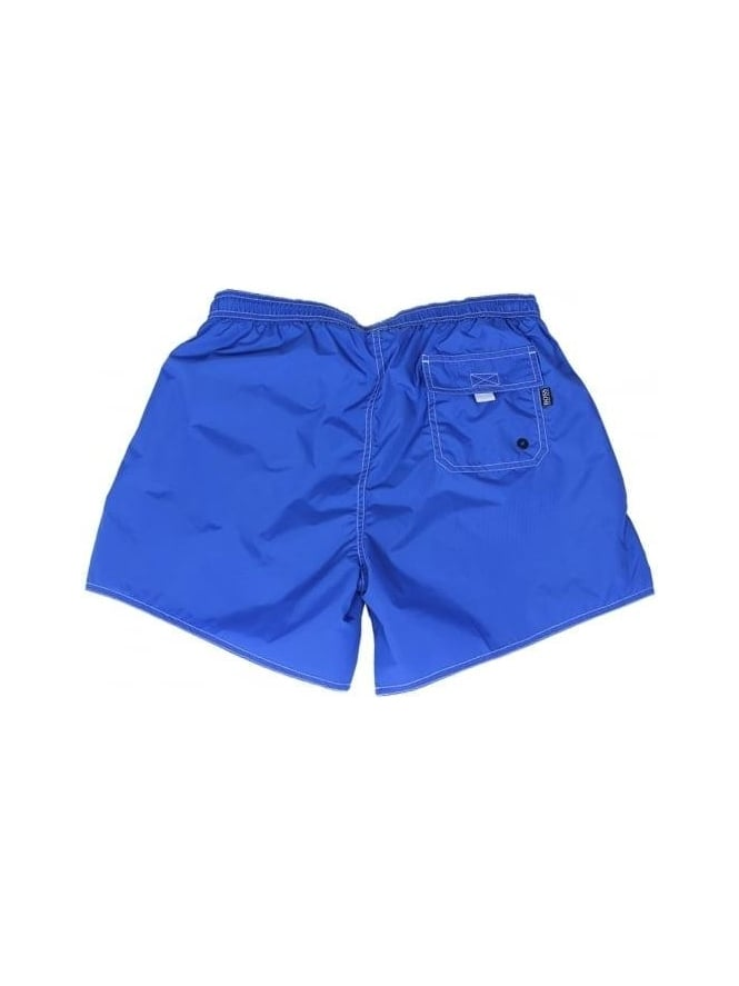 94904b4bcc884 Hugo Boss Black Lobster Swimming Shorts In Bright Blue - Northern ...