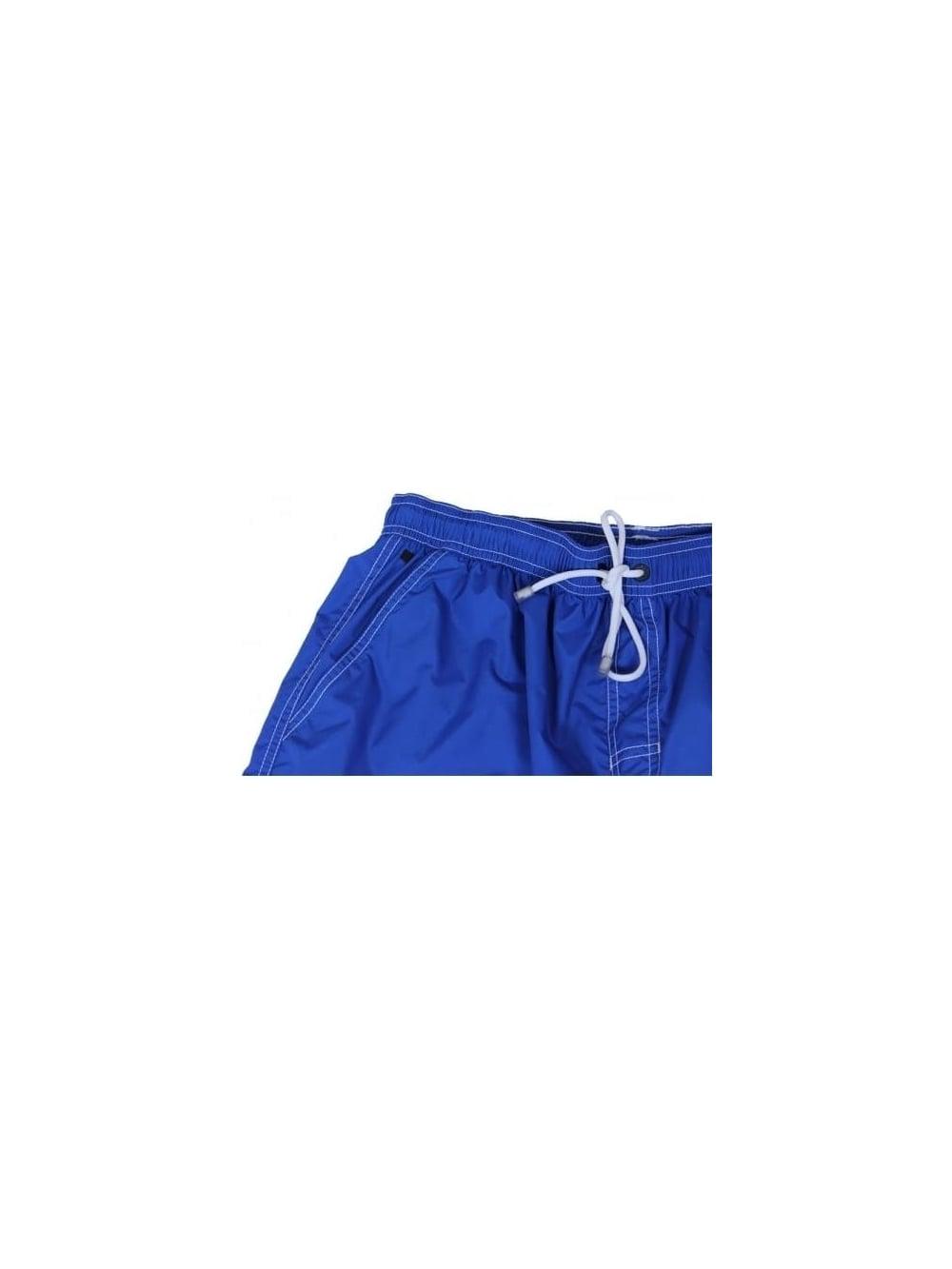 4770fbd68 Hugo Boss Black Lobster Swimming Shorts In Bright Blue - Northern ...