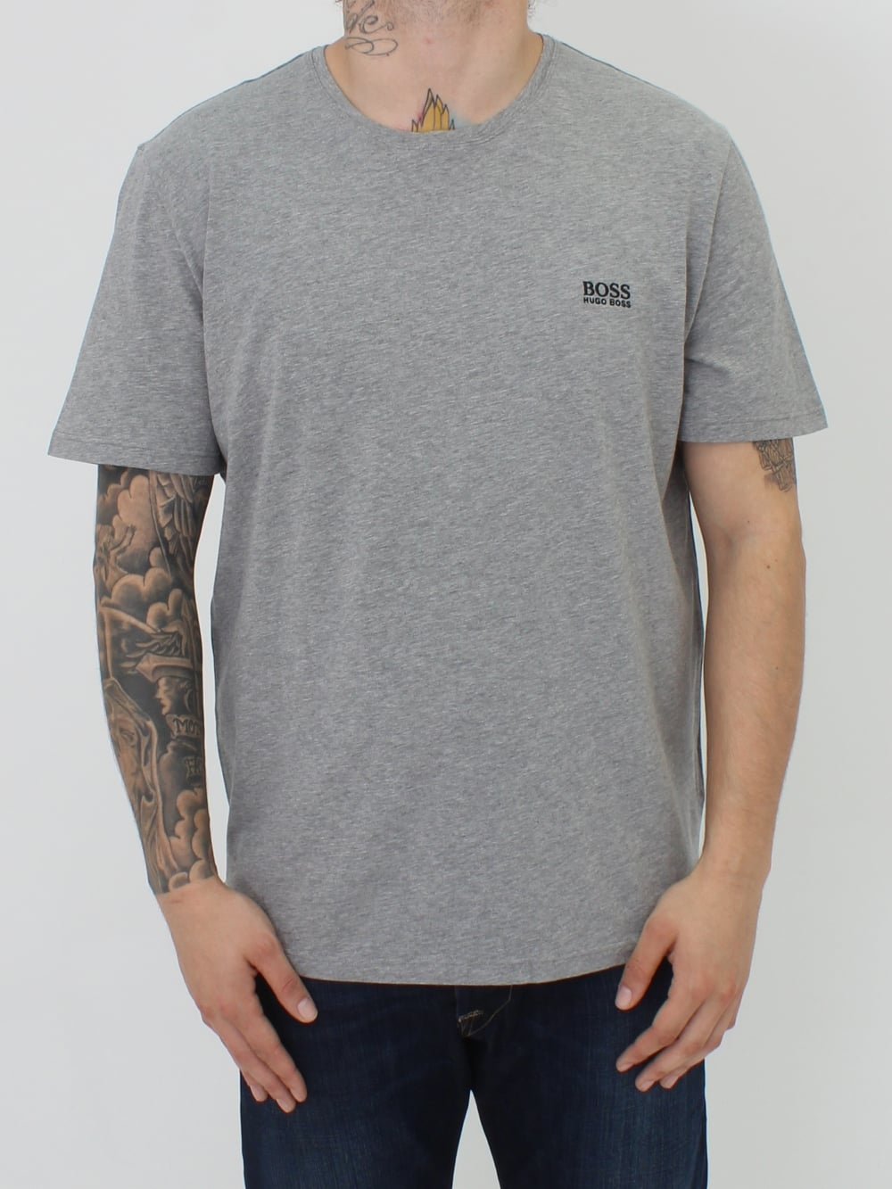 Boss Hugo Boss Mix   Match T.Shirt in Grey - Northern Threads 656d954f5