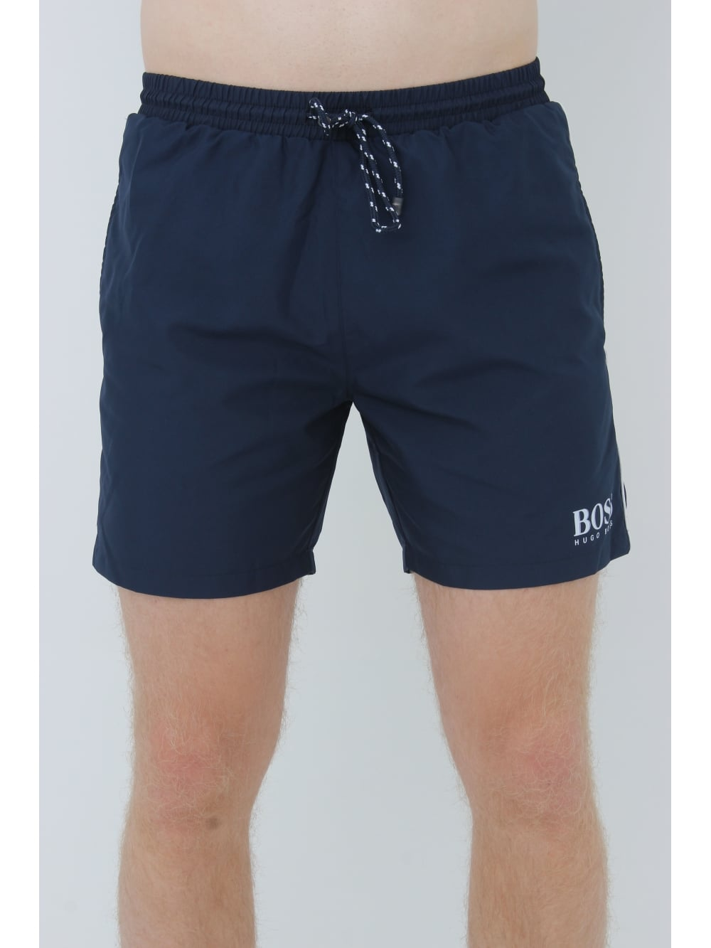 4edca7b6f536 BOSS Hugo Boss Starfish BM Swim Shorts In Navy - Northern Threads