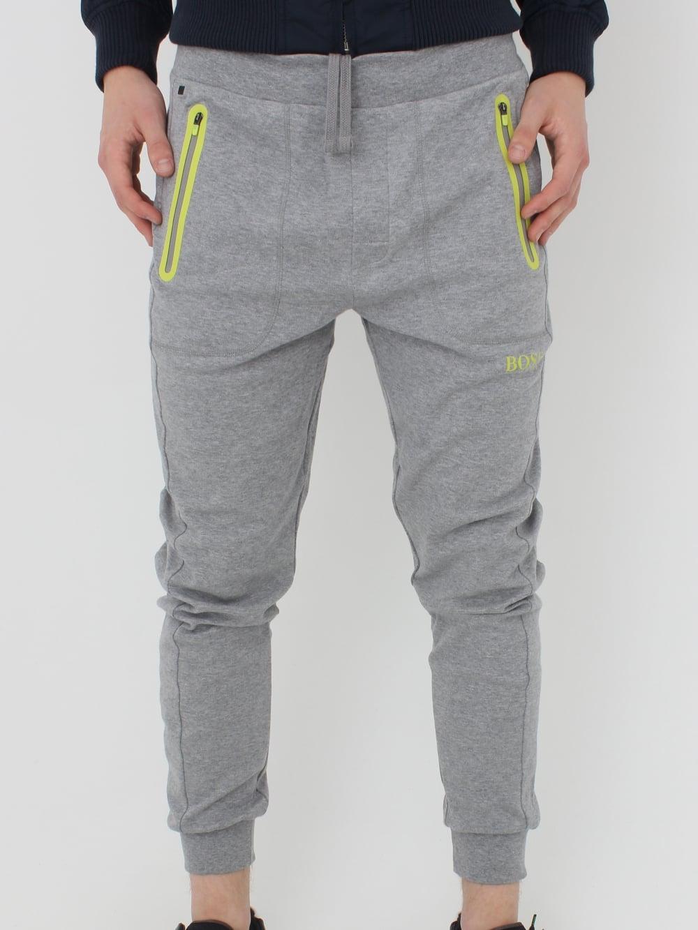 b71e66771 Hugo Boss - Boss Tipped Logo Sweat Pants in Medium Grey - Northern ...