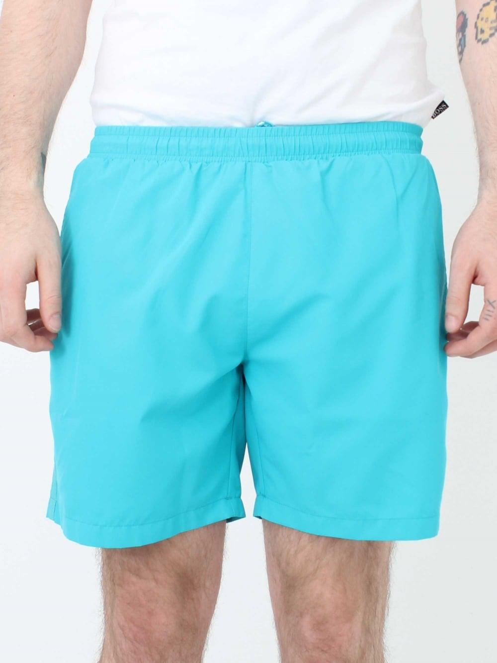 d724e826 Hugo Boss Seabream Swim Shorts in Turquoise | Northern Threads