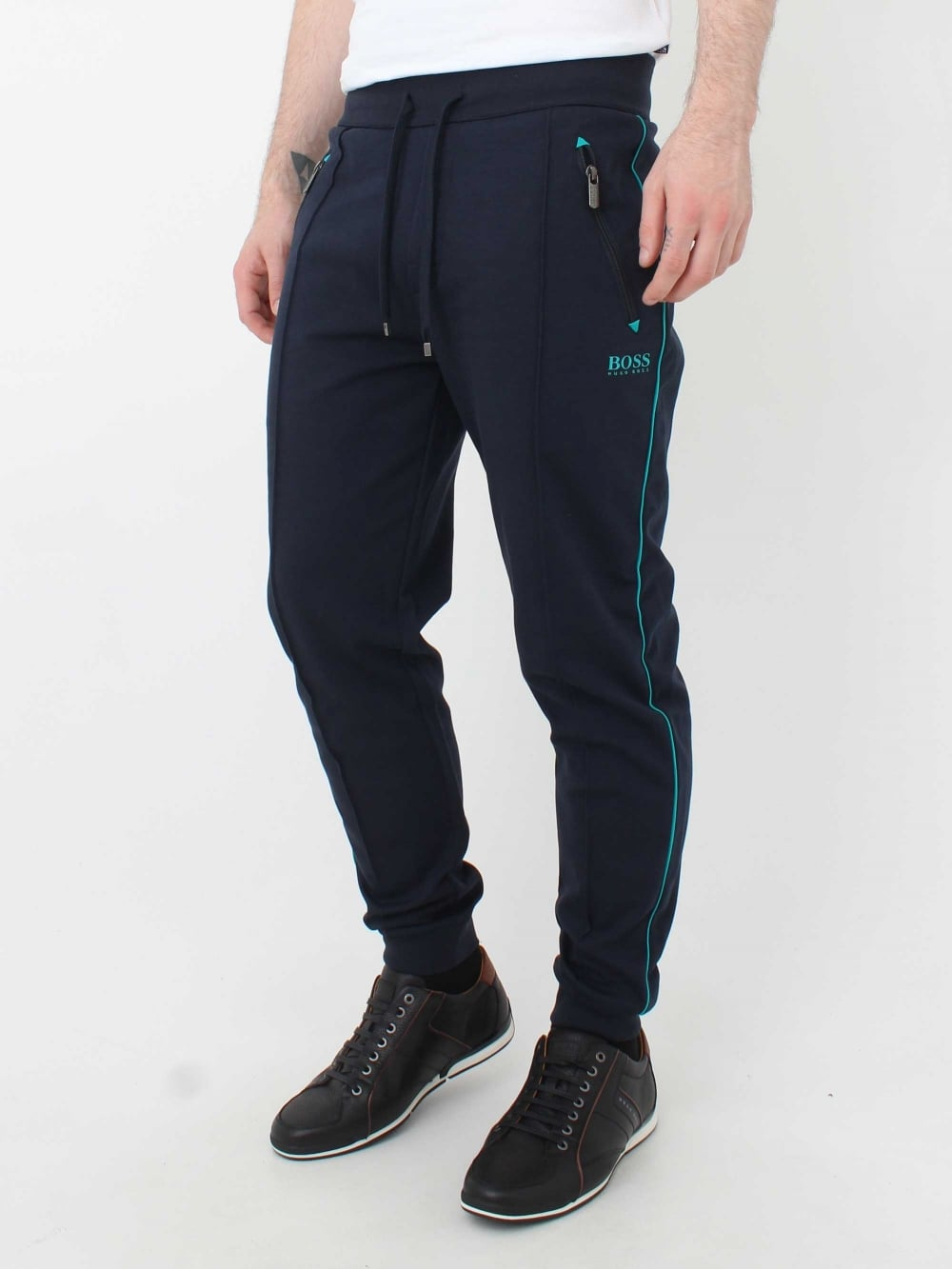 bafd15f9 Hugo Boss Tracksuit Pants in Dark Blue | Northern Threads