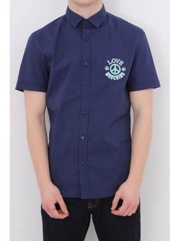 CND Logo Short Sleeve Shirt - Navy