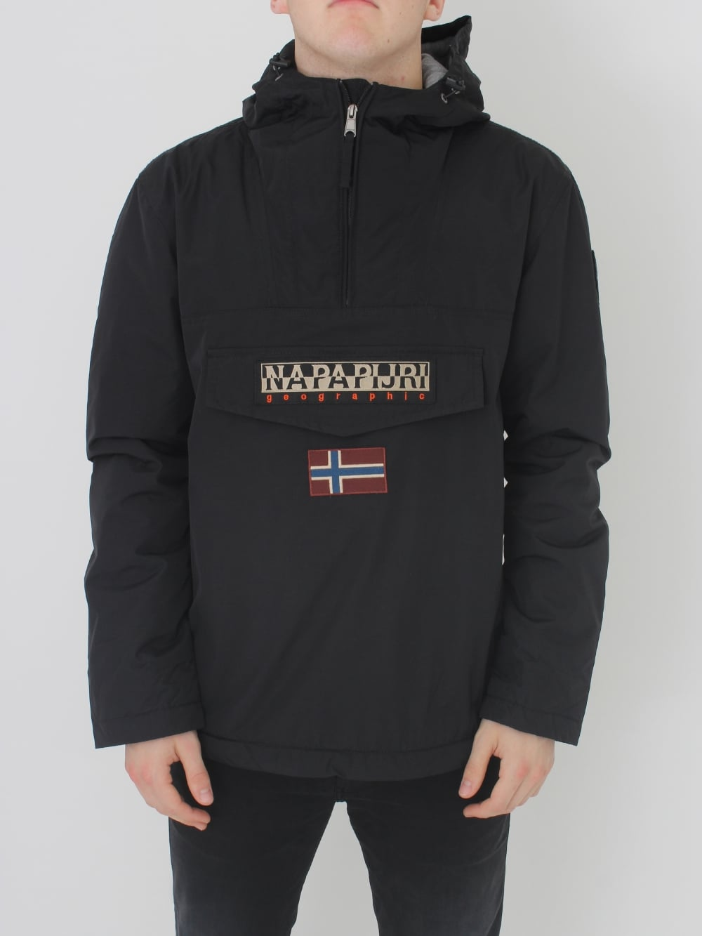 907a9a2d466c4 Napapijri Rainforest Winter jacket in Black - Northern Threads