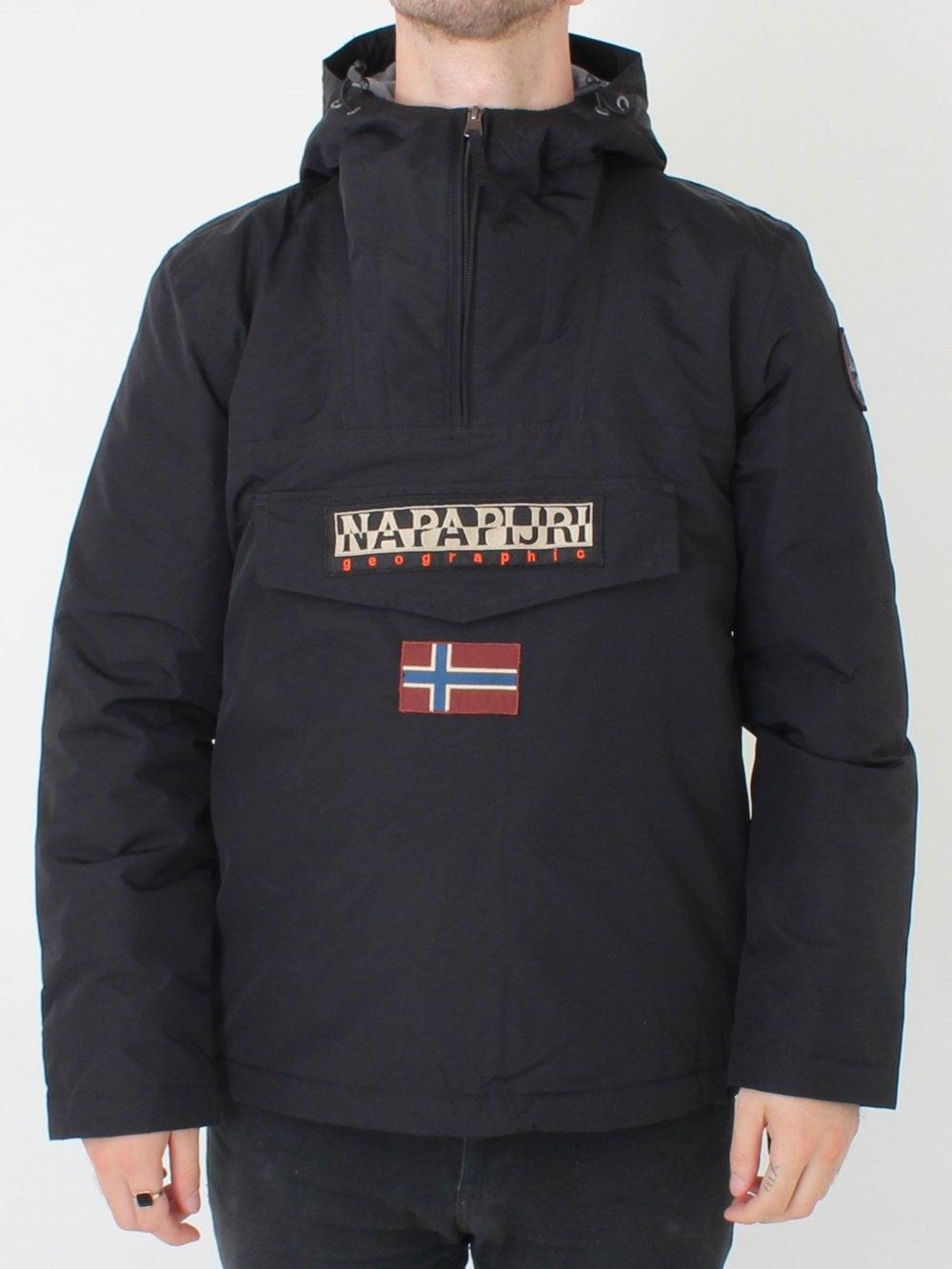 Napapijri Rainforest Winter Jacket in Black  d91dfffa169
