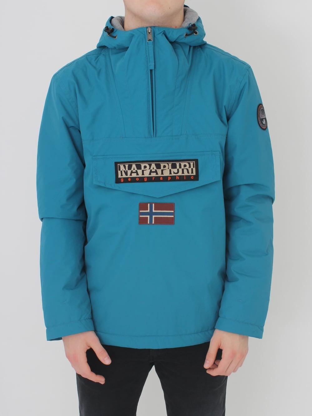 Napapijri Rainforest Winter Jacket in Deep Jade - Northern Threads 45863f2bc126