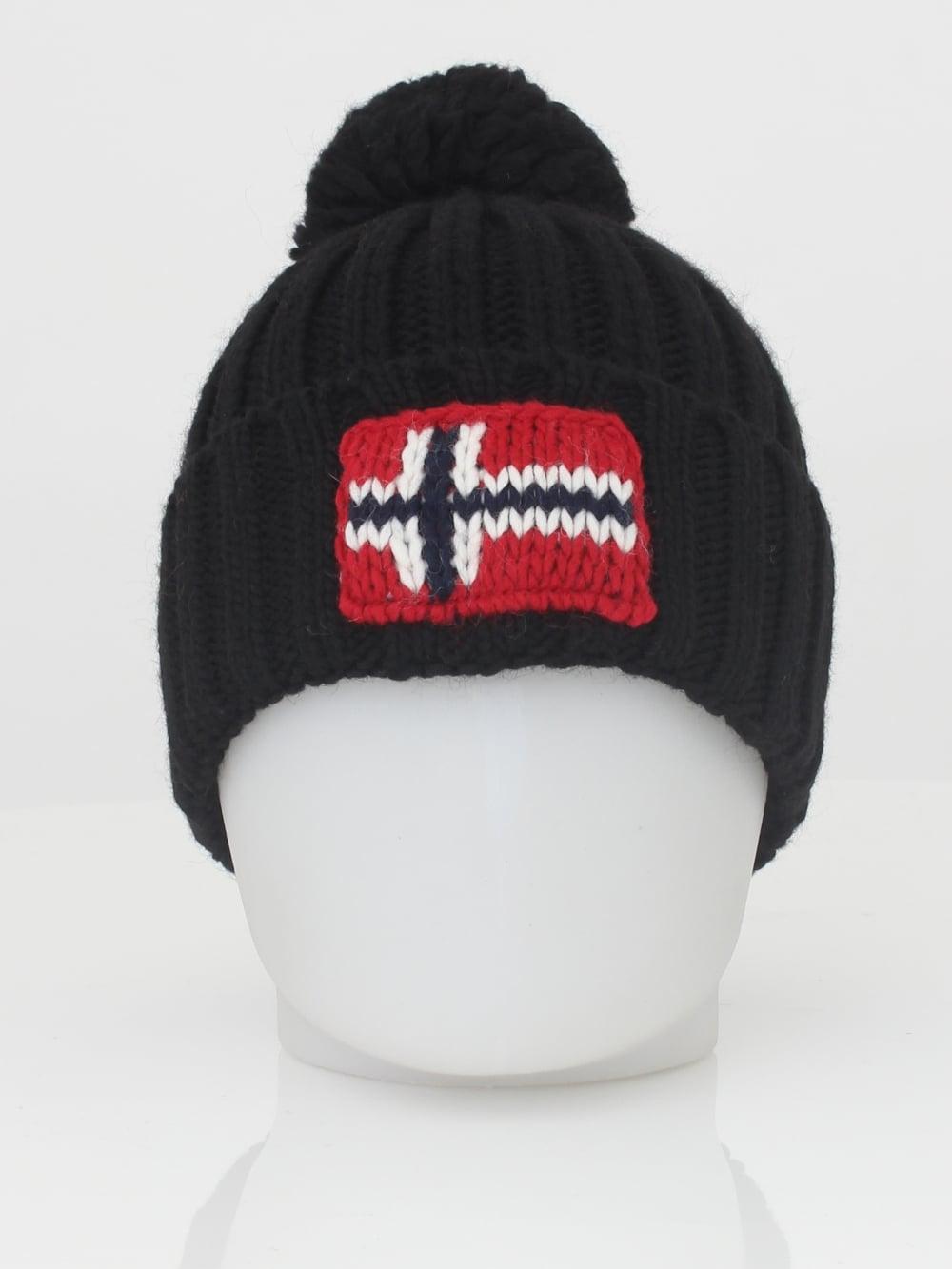 833f64d9605 Napapijri Semiury Hat in Black - Northern Threads
