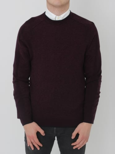 Neapol Sporty Crew Neck Knit - Purple