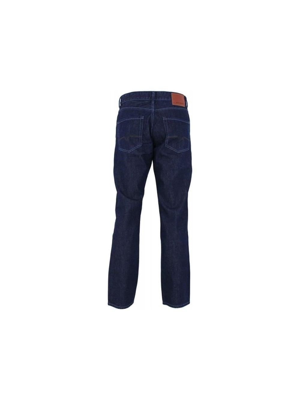 hugo boss orange 25 jeans in dark blue northern threads. Black Bedroom Furniture Sets. Home Design Ideas