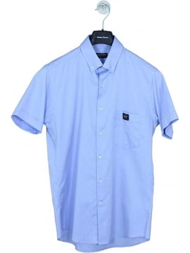 Fit Oxford Shirt - Blue