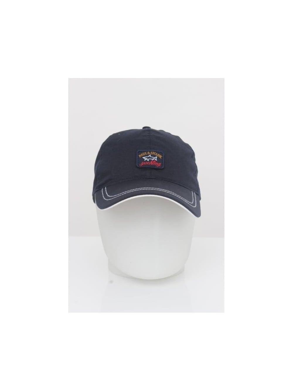 Paul and Shark Logo Cap - Navy
