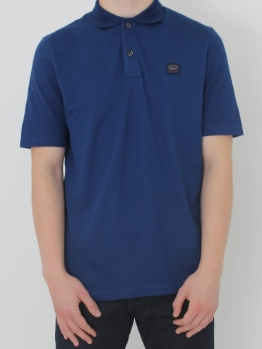 Paul & Shark Logo Polo - Blue