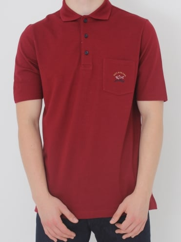 Pocket Polo - Dark Red
